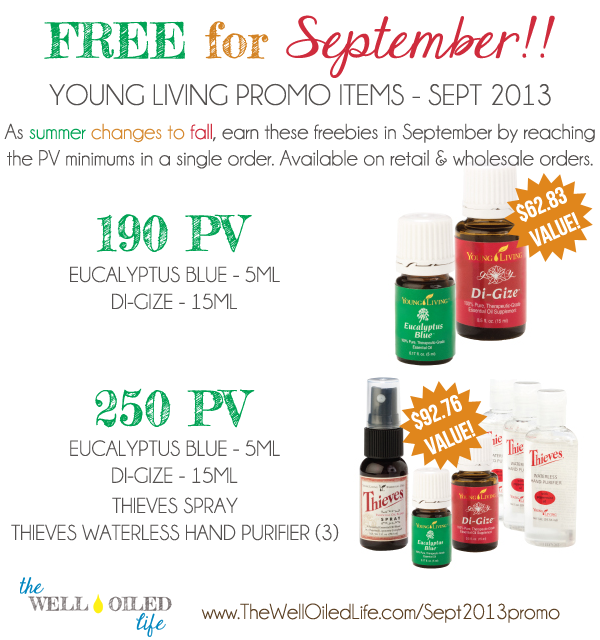 sept 2013 young living promo