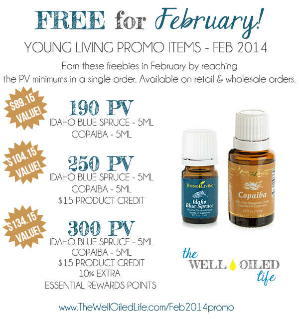 Feb 2014 young living promo
