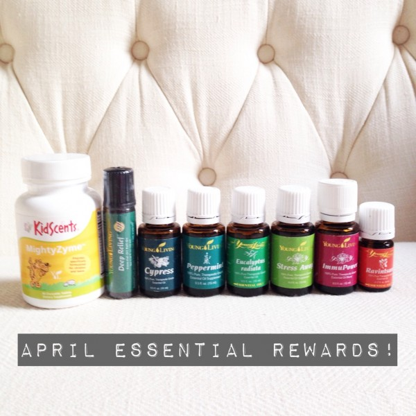 April Essential Rewards