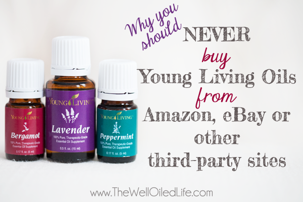 Never Buy Young Living from Amazon or eBay