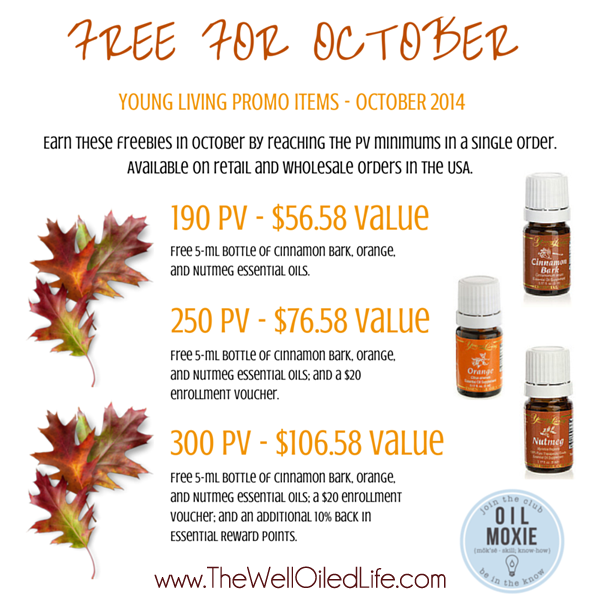 October 2014 Monthly Young Living Promo