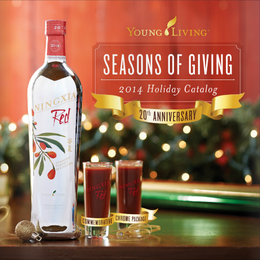 Young Living 2014 Holiday Catalog
