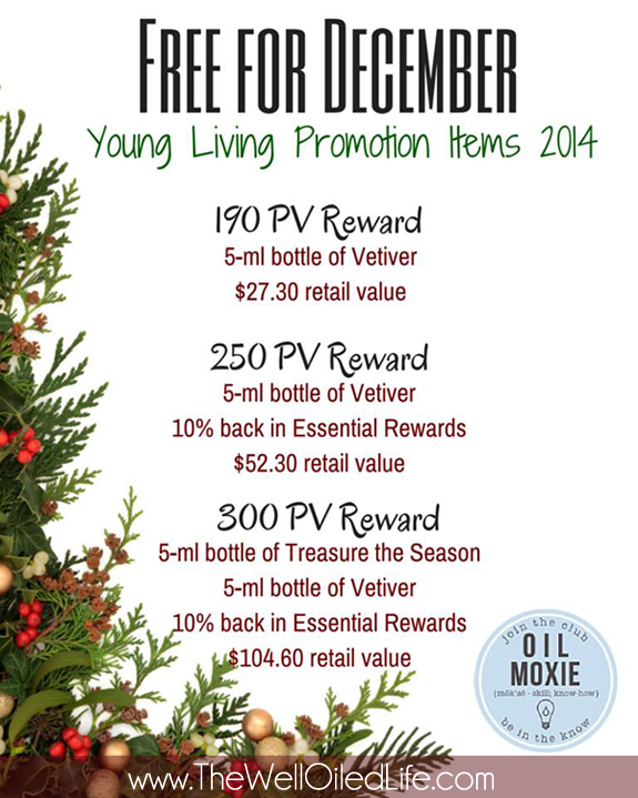 December 2014 Young Living Promotion
