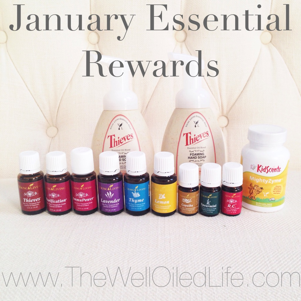 January Essential Rewards