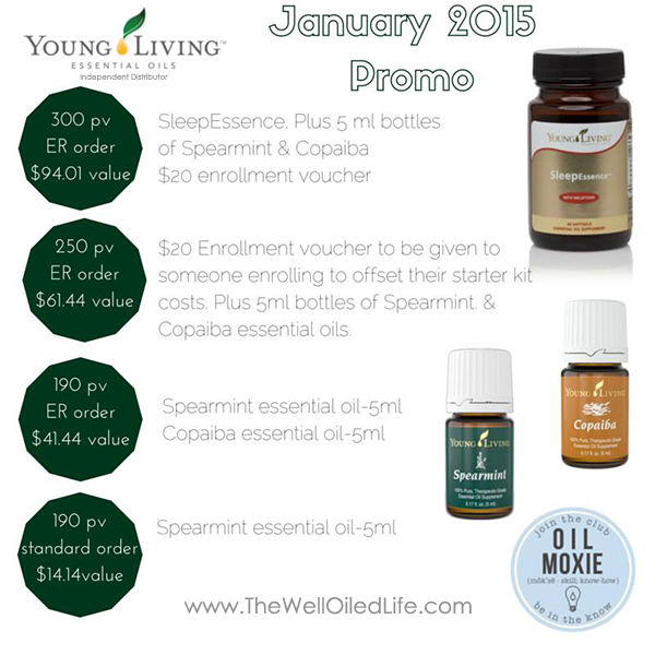 January 2015 Young Living Promo