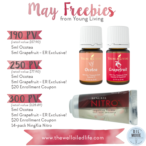 Young Living May Freebies
