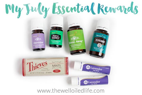 July Essential Rewards Order