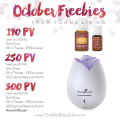 October Young Living Promotion