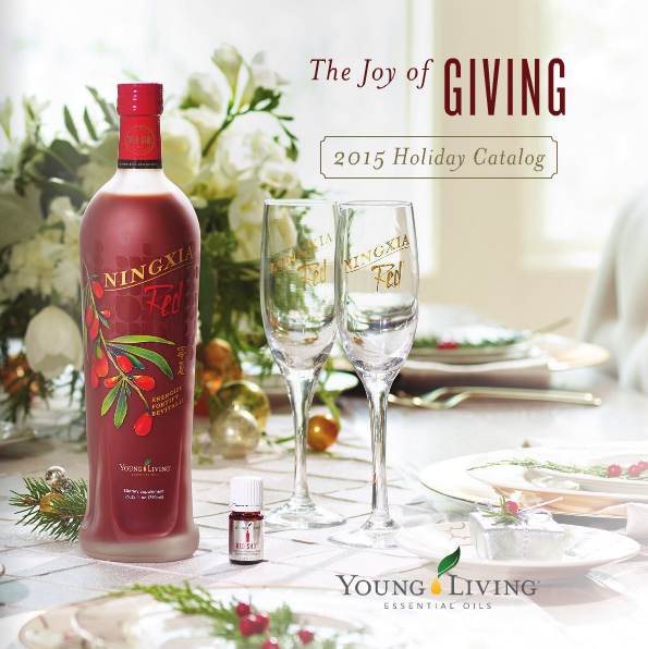 Young Living 2015 Holiday Catalog