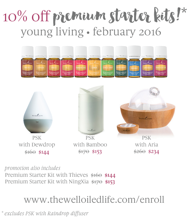 10% Off Young Living Premium Starter Kits