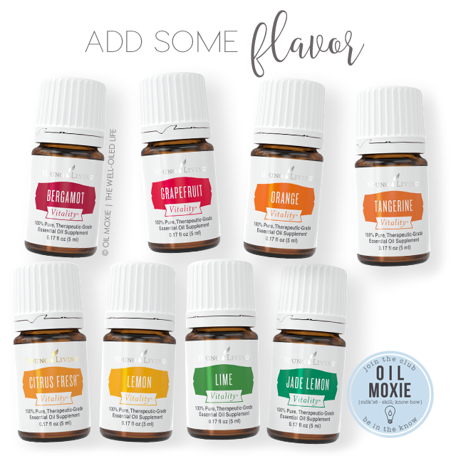 Add Some Flavor - Citrus Vitality Essential Oils