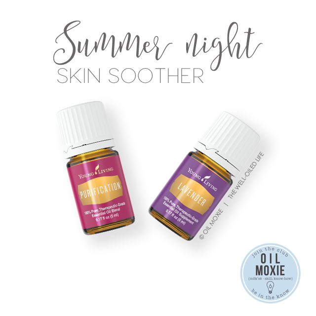 Summer night skin soother