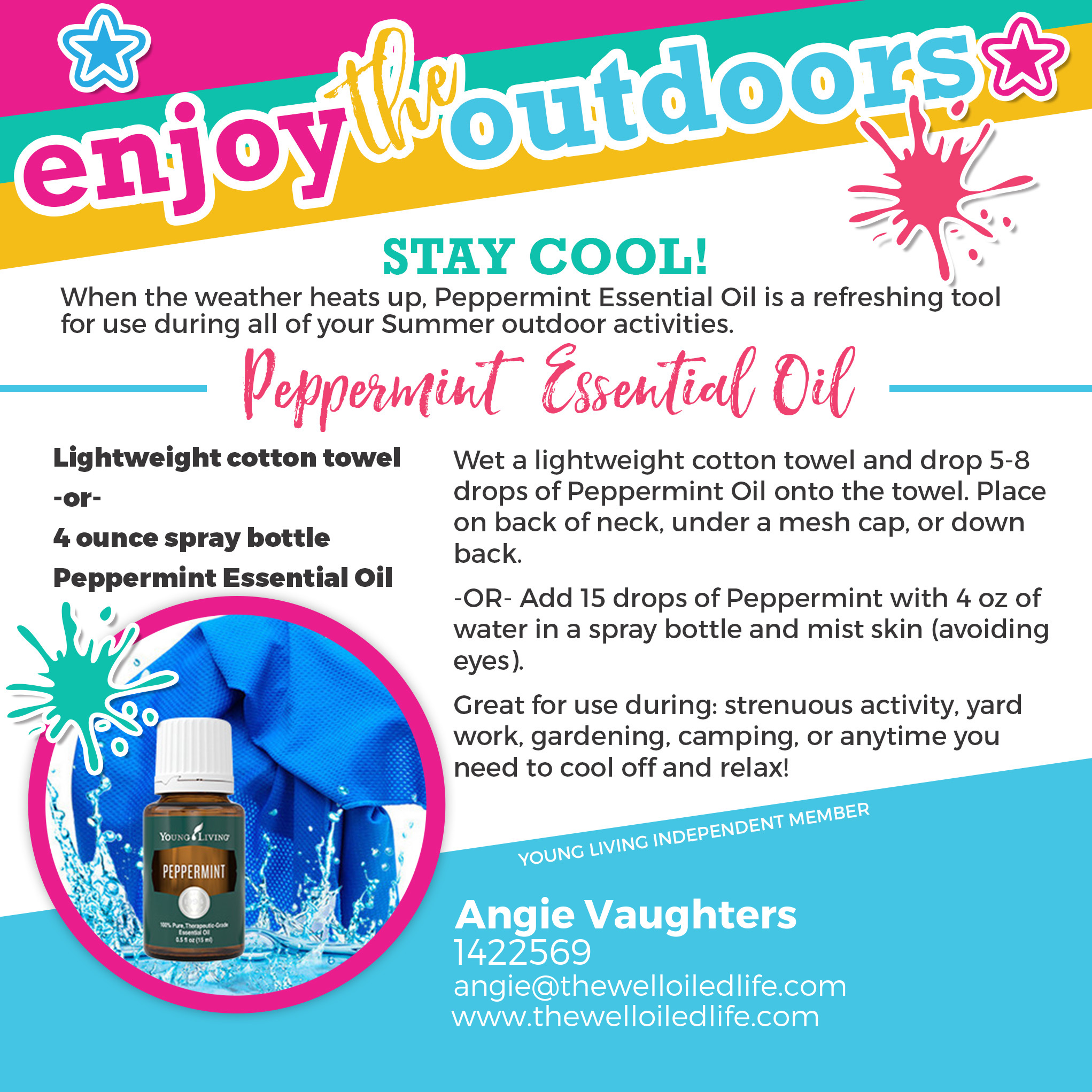 Essential Oils For Summertime Includes Recipes