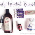 My Young Living July Essential Rewards Order