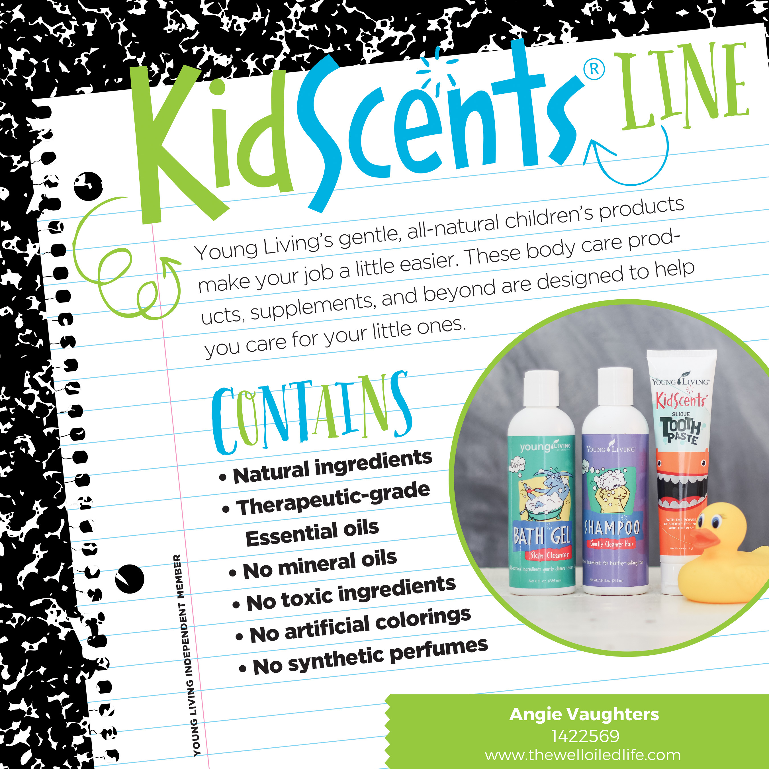 Essential Oils For Kids Back To School