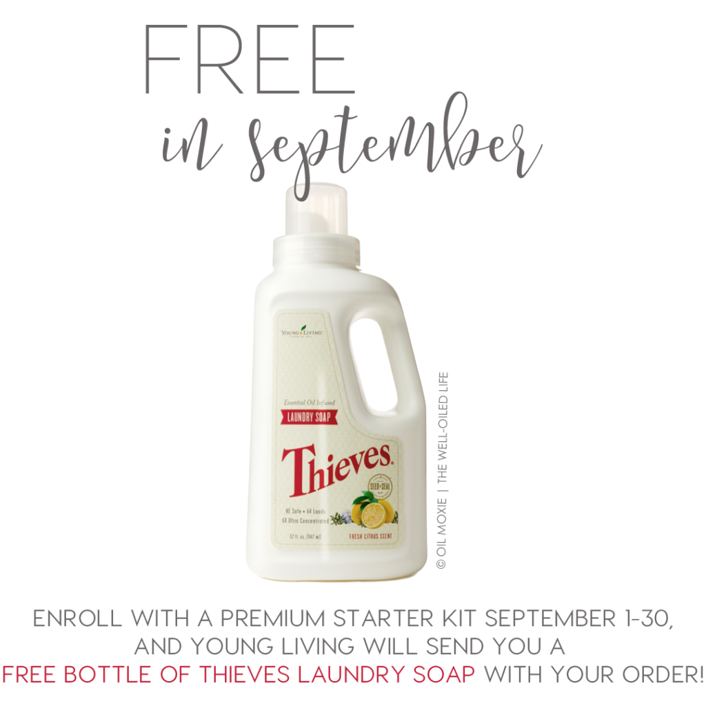 Free Thieves Laundry Soap Young Living
