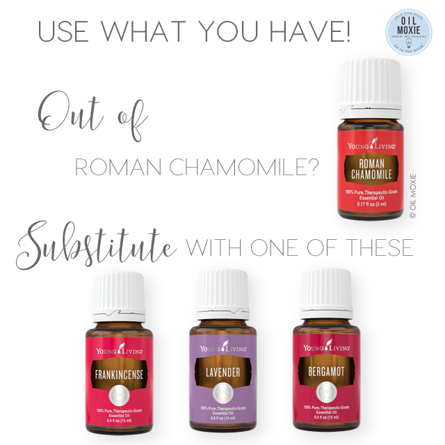 Out of Roman Chamomile?  Use what you have!