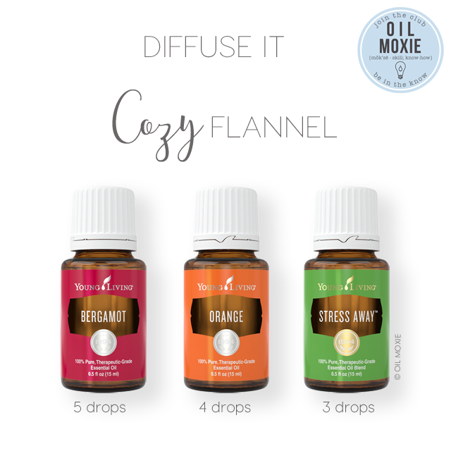 Cozy Flannel Diffuser Recipe