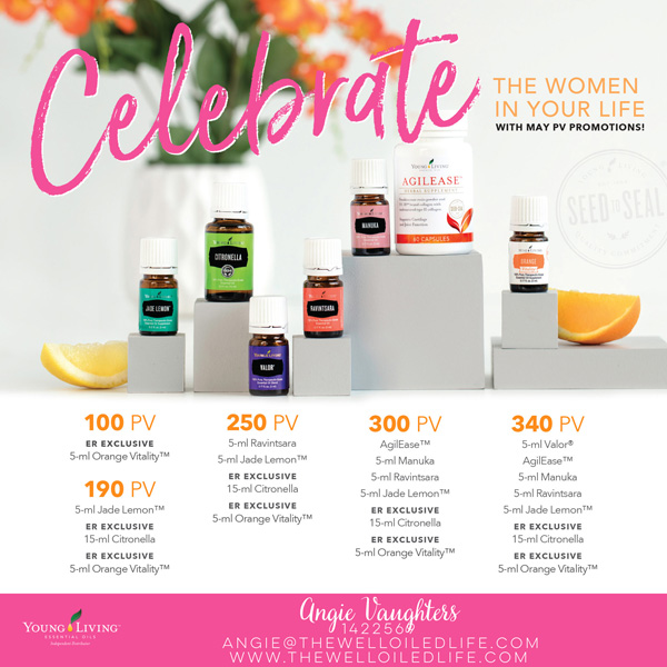 Young Living May 2017 Monthly Promotion