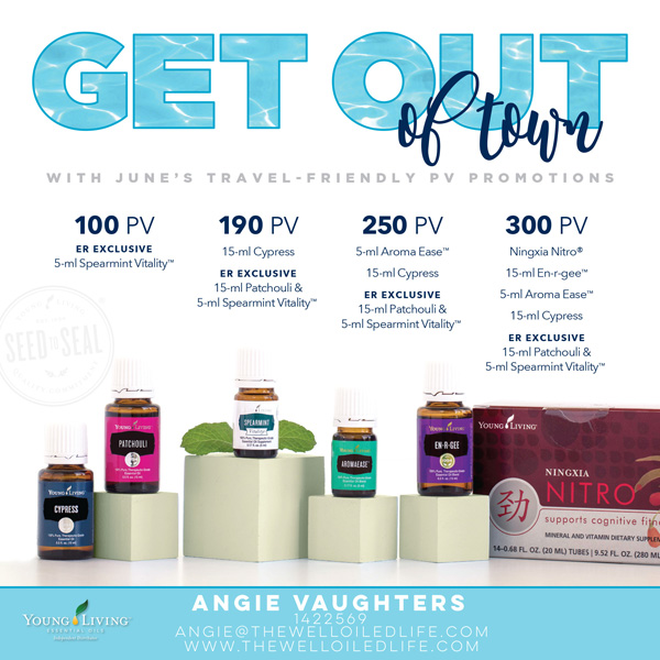 Young Living June 2017 Monthly Promo