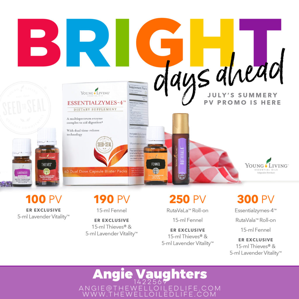 Young Living July Monthly Promotion