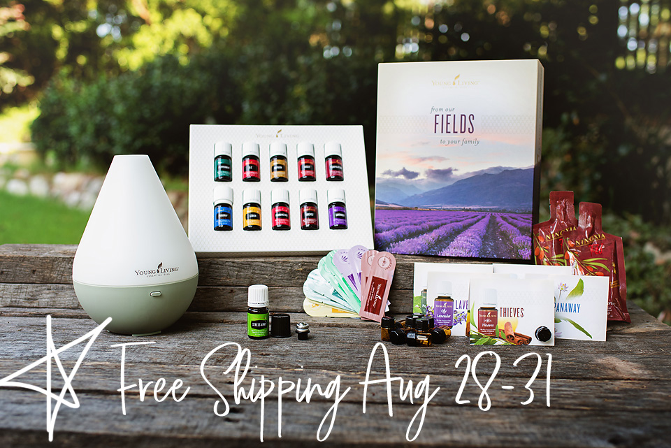 Free Shipping on Young Living's Premium Starter Kit