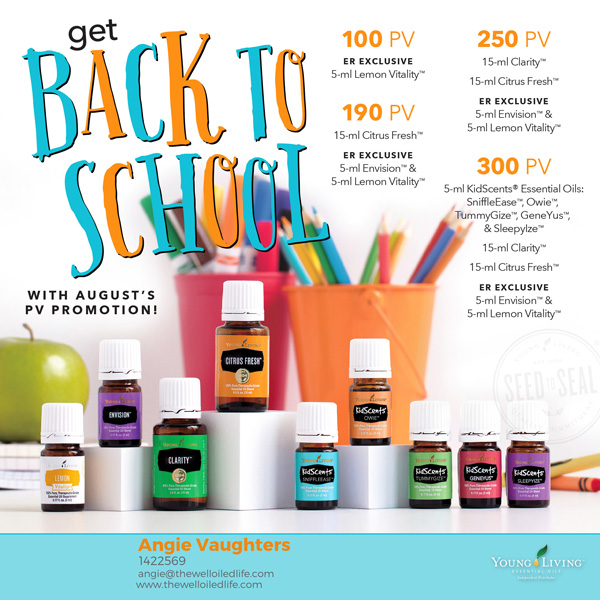 August 2017 Young Living Monthly Promotion