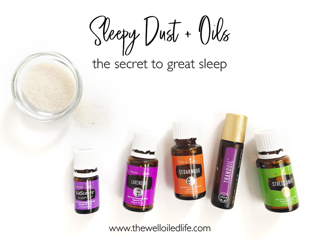 Sleepy Dust and Oils - The Secret to Great Sleep!
