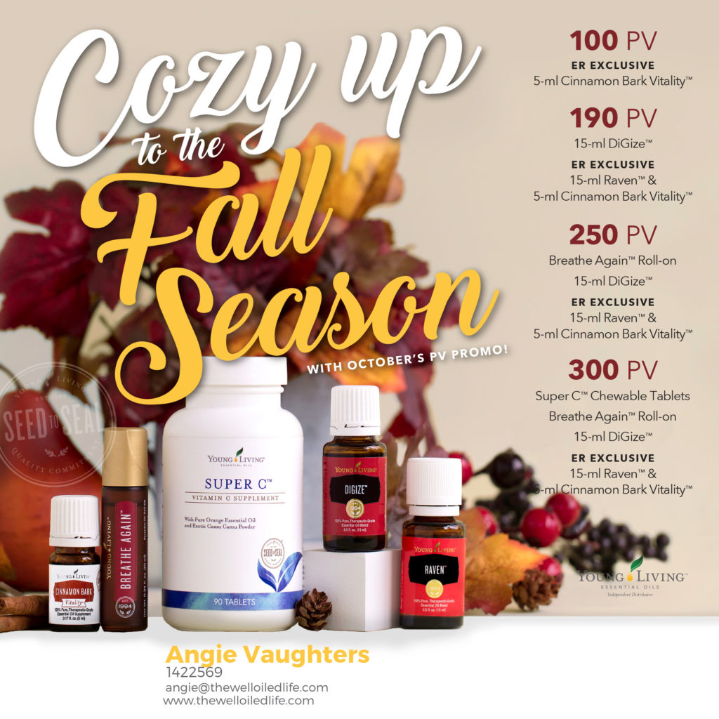 Young Living October 2017 Monthly Promotion