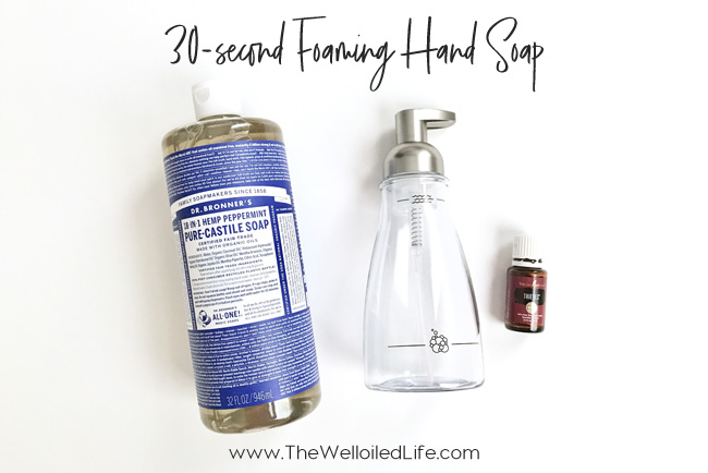 30-Second DIY Foaming Hand Soap