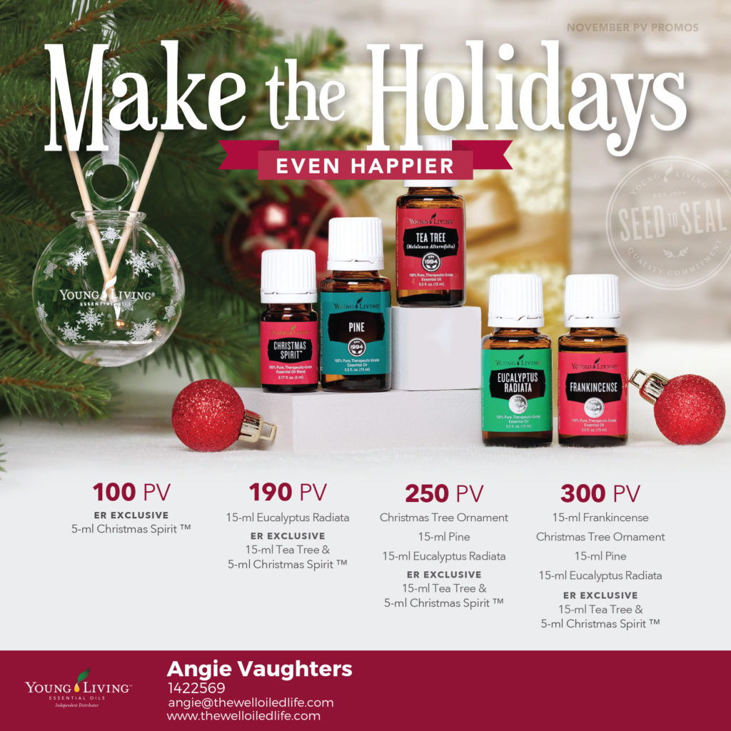 Young Living Noveber 2017 Monthly Promotion