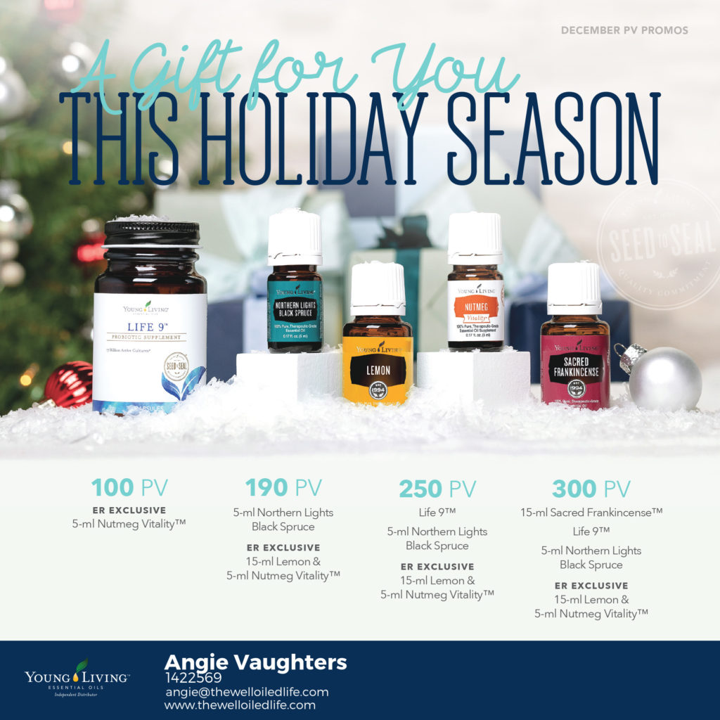 Young Living Monthly December Promotion