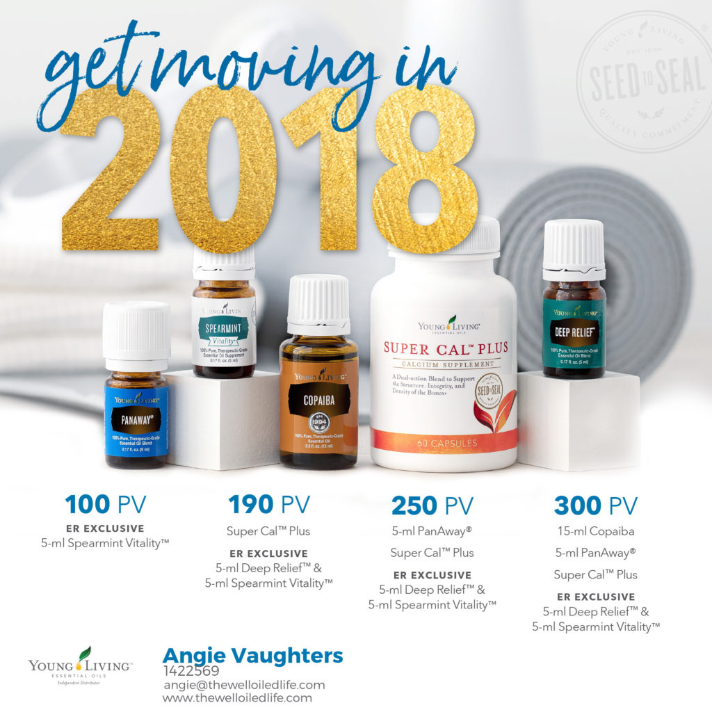 January Young Living Monthly Promo