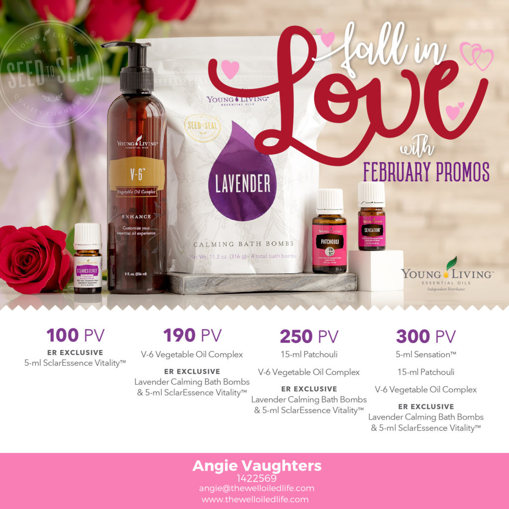February 2018 Young Living Promo