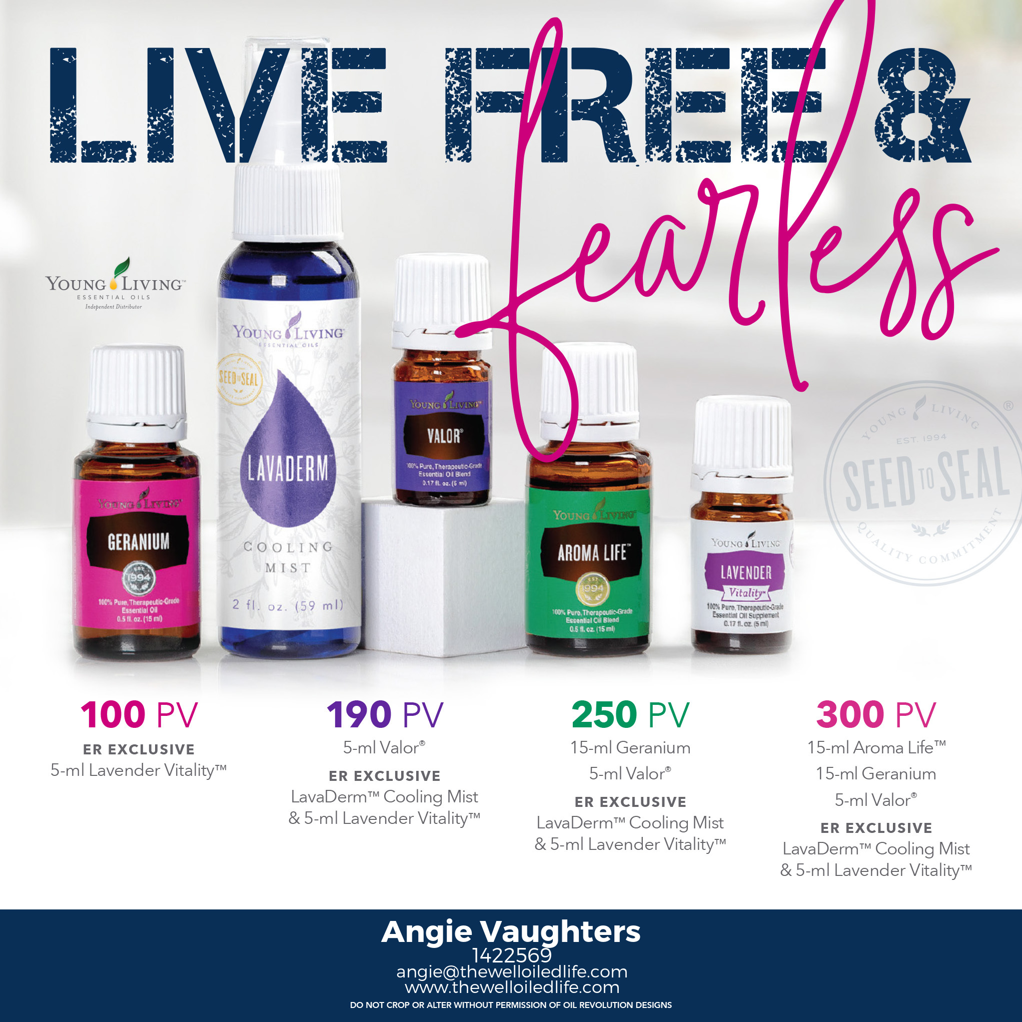 July 2018 Young Living Monthly Promotion