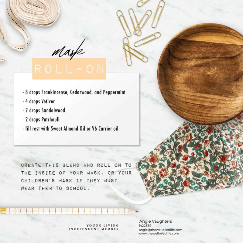 Essential Oil Mask Roll On