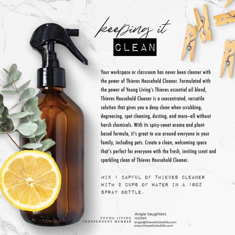 Safe and Effective Natural Thieves Cleaner
