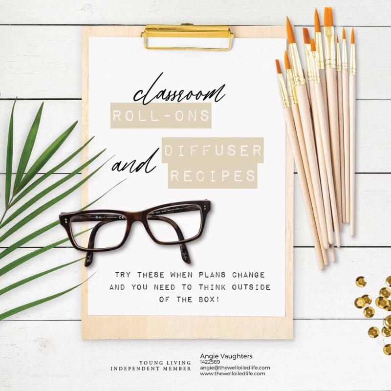 Classroom Diffuser and Rollon Recipes