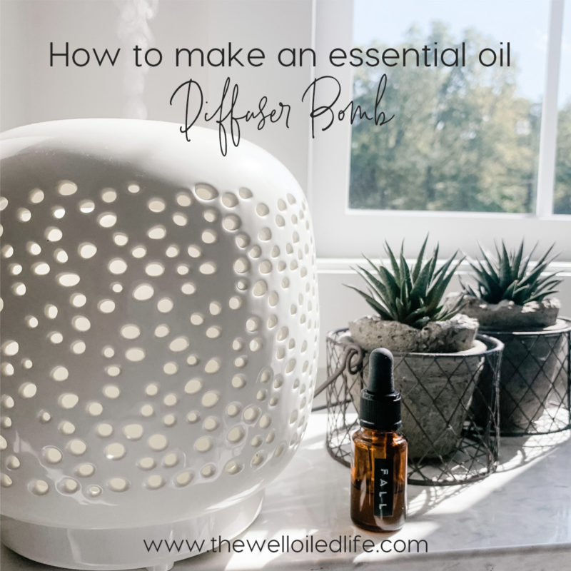 How to Make an Essential Oil Diffuser Bomb