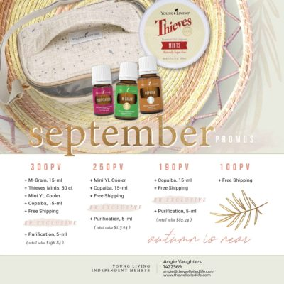 Young Living September 2020 Monthly Promotion