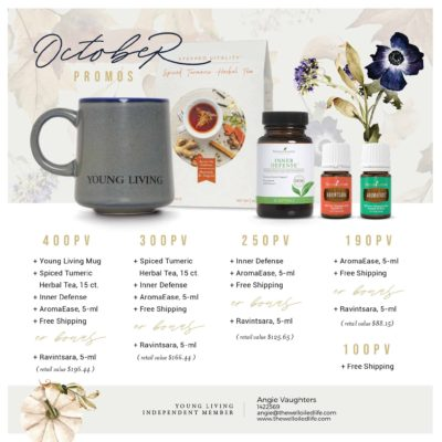 October Young Living Promo