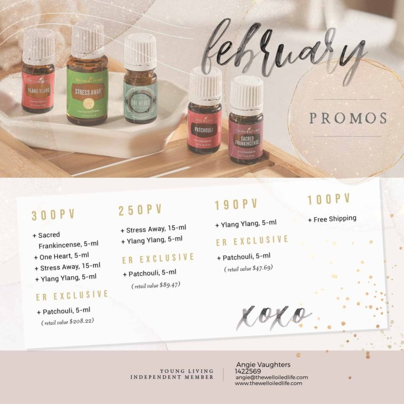 Young Living February 2021 Monthly Promo