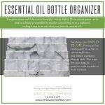 Young Living Essential Oil Bottle Organizer