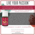 Live your Passion Essential Oil Blend