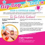 Flip Flop Feet Step 2