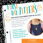 Send your child with a diffuser necklace to help first day jitters