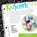 KidScents line of essential oils, pre-diluted and formulated especially for kids