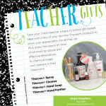 Young Living Thieves line makes for great teacher gifts!